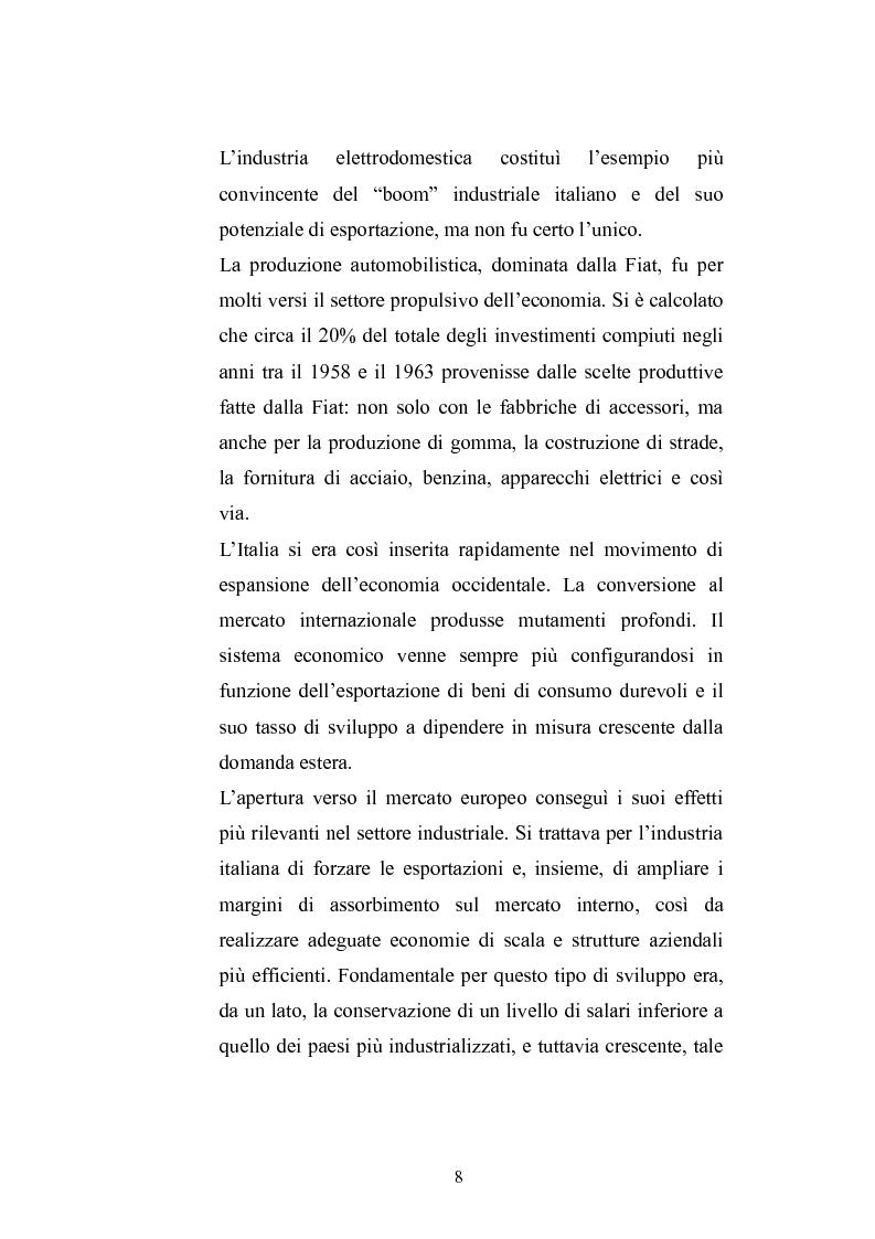 Anteprima della tesi: Una modernizzazione incompiuta. Pasolini e la rivoluzione dei consumi in Italia., Pagina 5