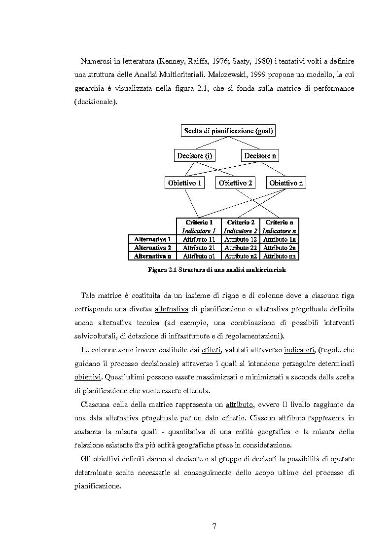 Anteprima della tesi: L'analisi multicriteriale geografica per lo studio della multifunzionalità: una applicazione al settore vitivinicolo, Pagina 7