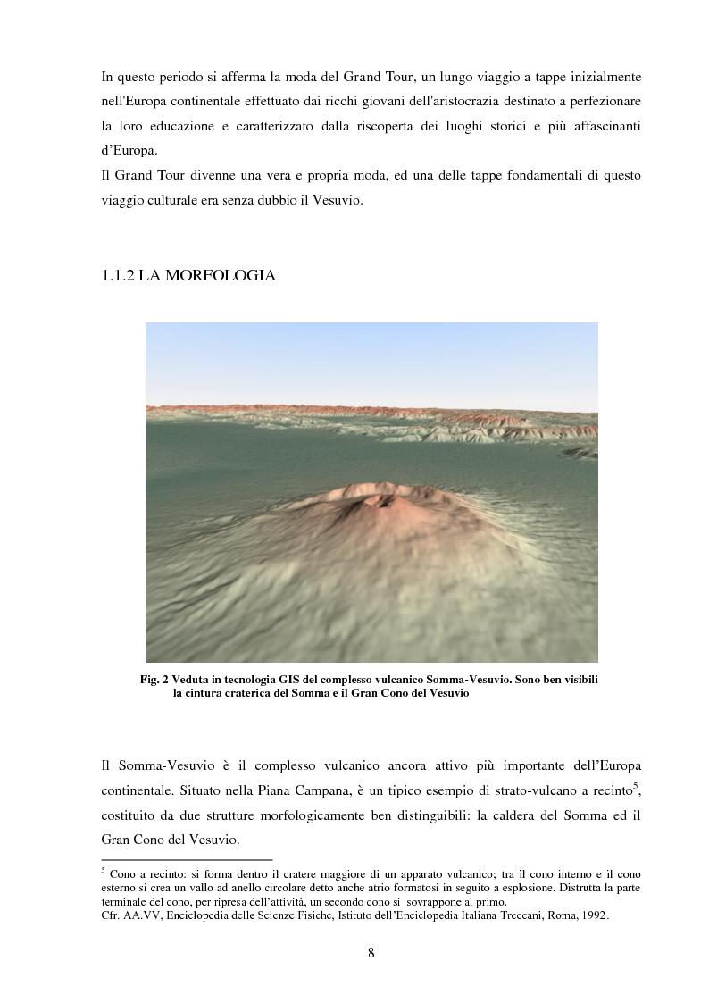 Anteprima della tesi: Turismo e aree protette: il parco nazionale del Vesuvio, Pagina 3