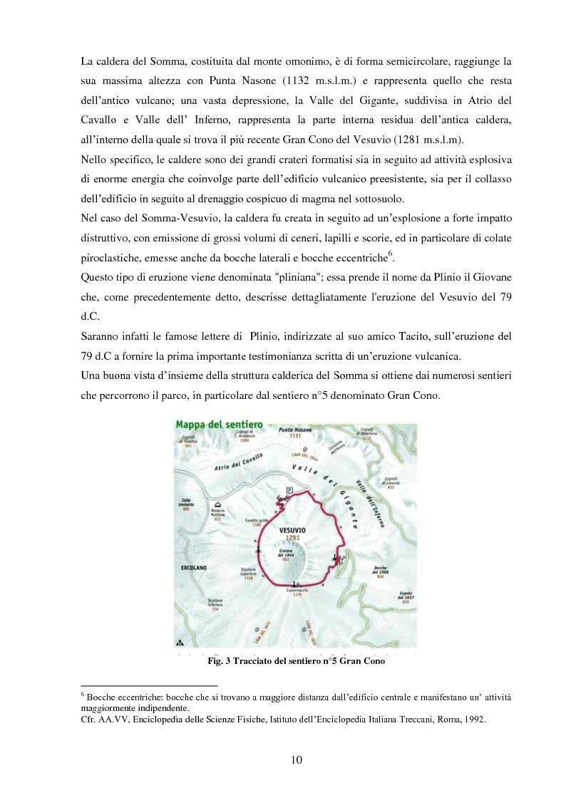 Anteprima della tesi: Turismo e aree protette: il parco nazionale del Vesuvio, Pagina 5