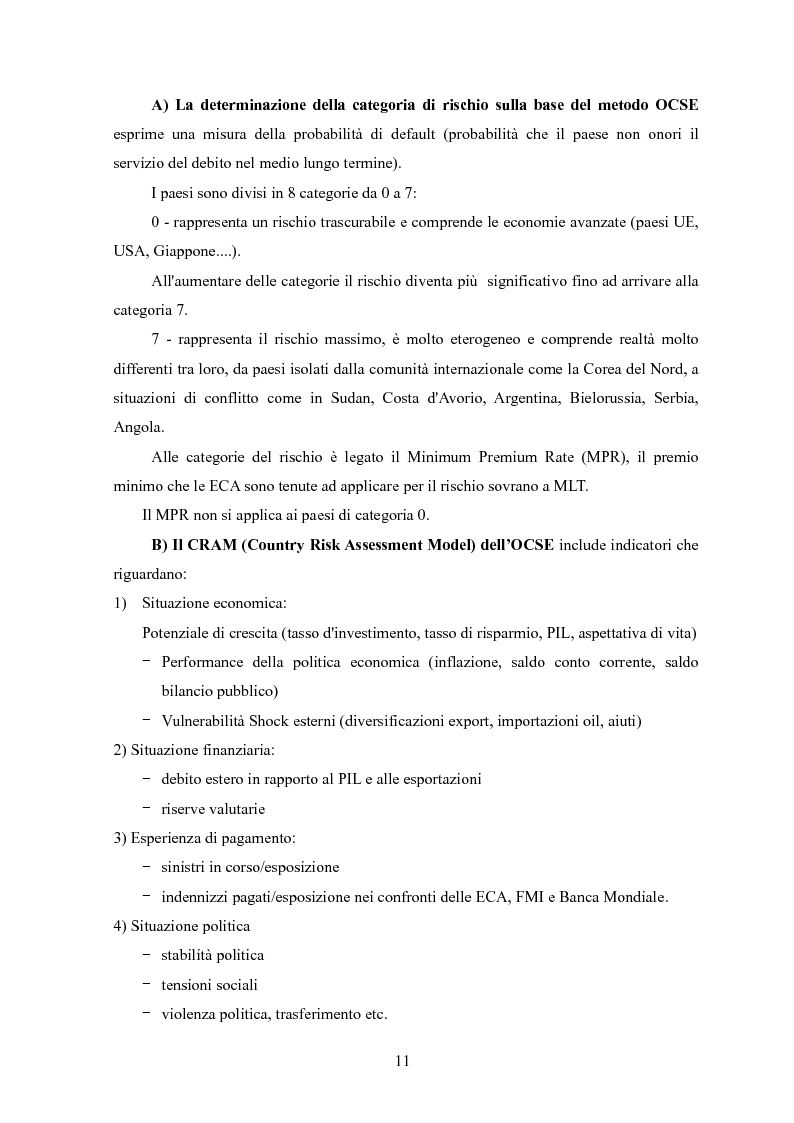 Anteprima della tesi: La valutazione del rischio paese: un'analisi dell'area Mediterranea, Pagina 3