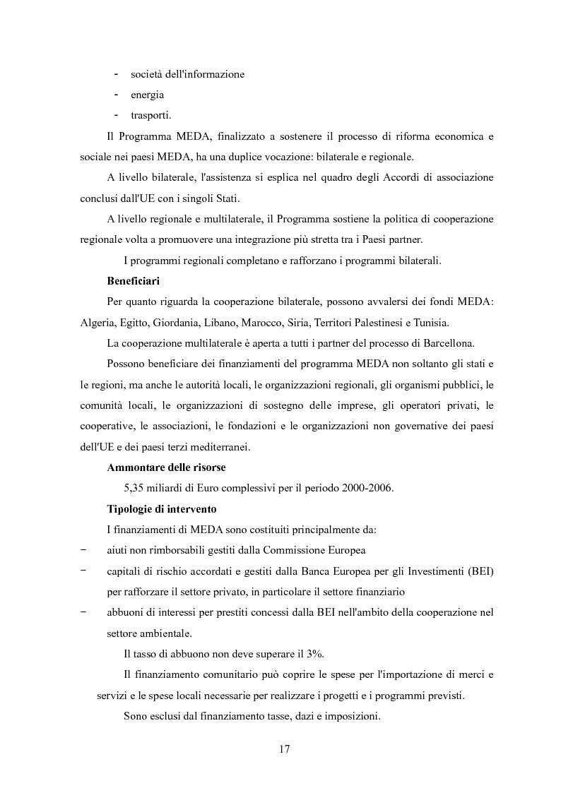 Anteprima della tesi: La valutazione del rischio paese: un'analisi dell'area Mediterranea, Pagina 9