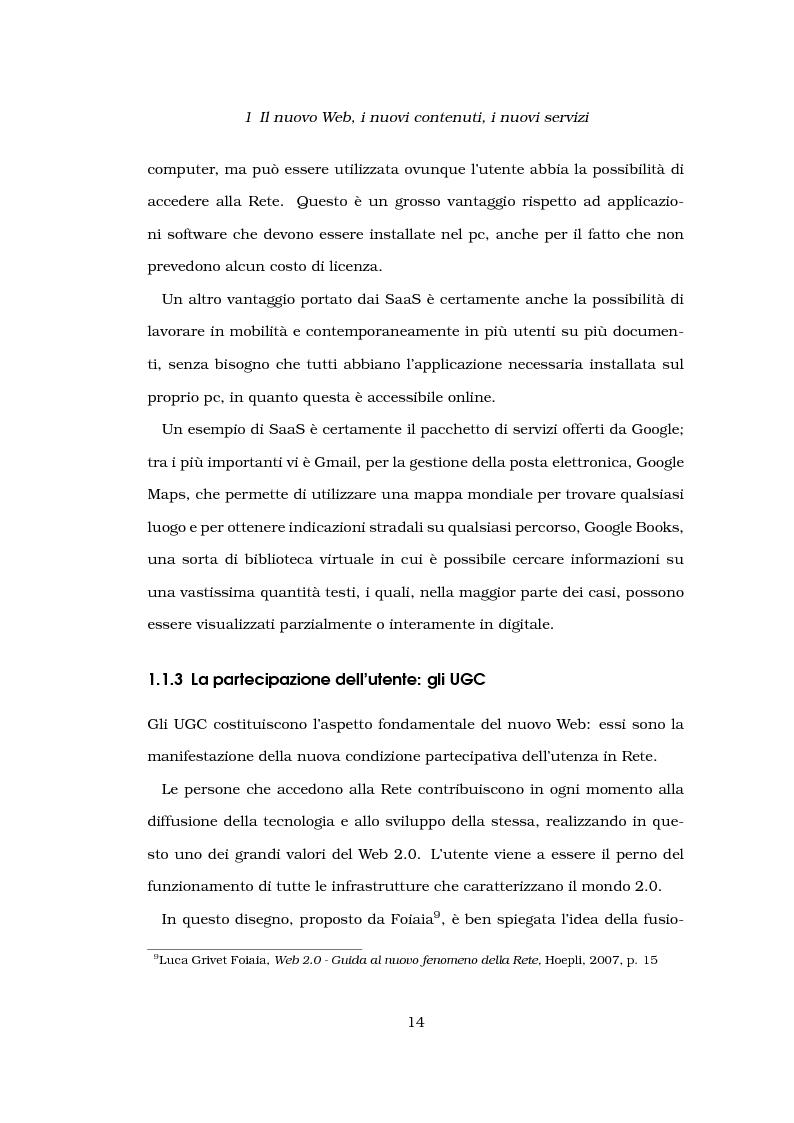 Anteprima della tesi: Problemi di affidabilità dei contenuti generati dagli utenti nel Web 2.0. Un'analisi del caso ''Wikipedia''., Pagina 9