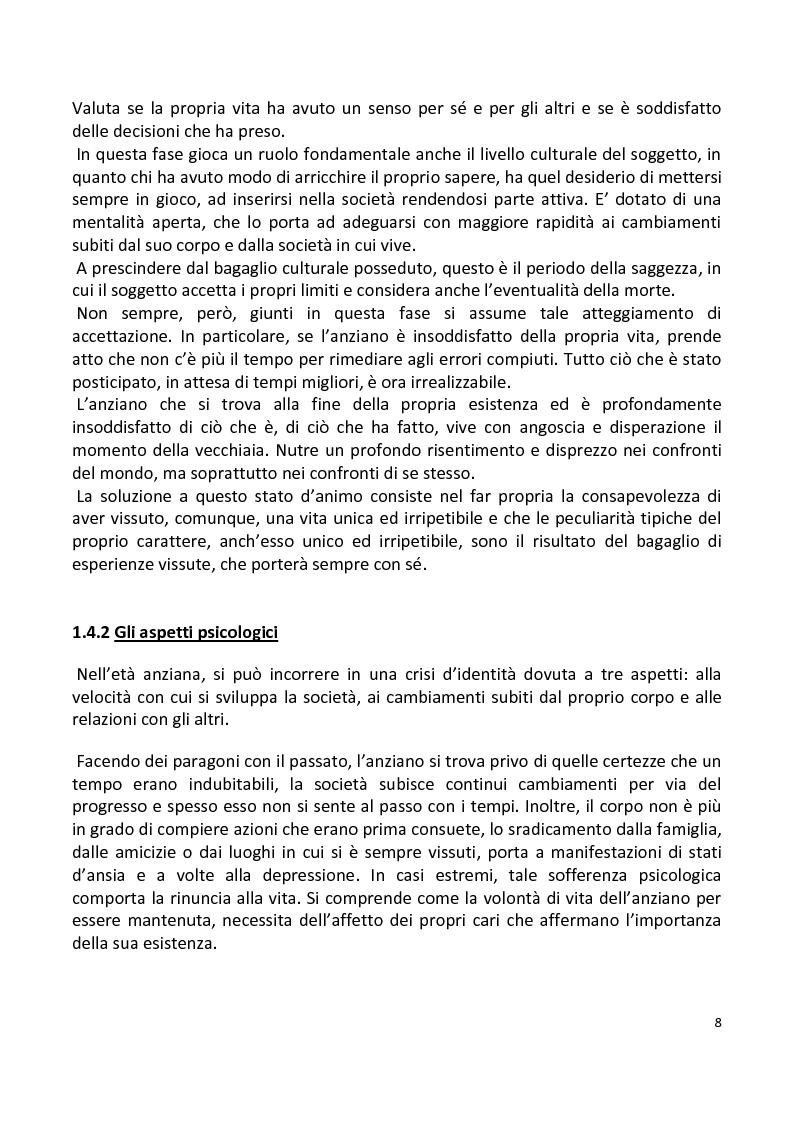 Anteprima della tesi: Stili di vita degli anziani di Capaci. I risultati di un'indagine campionaria., Pagina 5