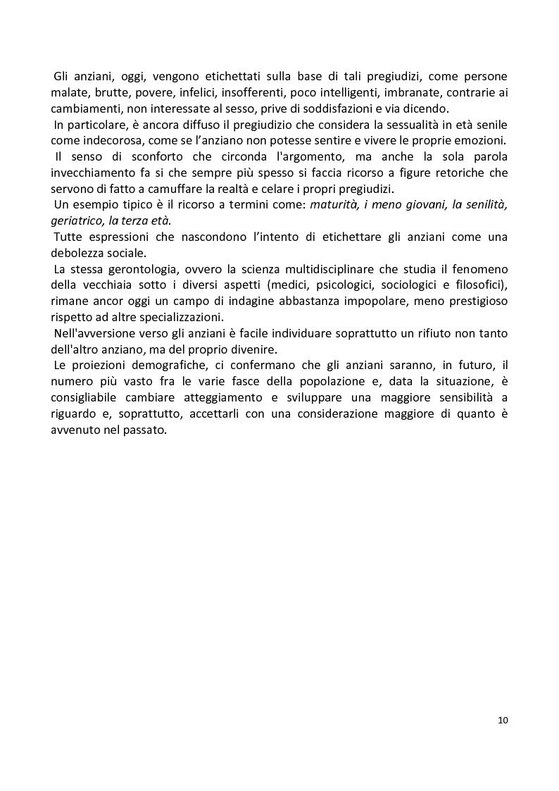 Anteprima della tesi: Stili di vita degli anziani di Capaci. I risultati di un'indagine campionaria., Pagina 7
