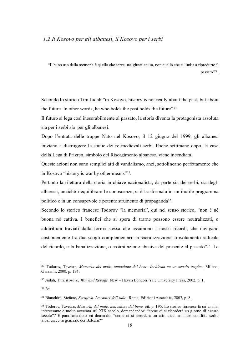 Anteprima della tesi: UçK: l'esercito di liberazione del Kosovo, Pagina 14