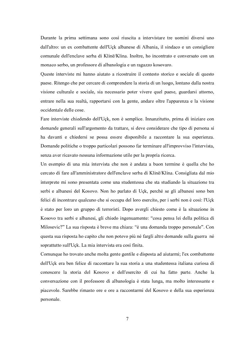 Anteprima della tesi: UçK: l'esercito di liberazione del Kosovo, Pagina 3