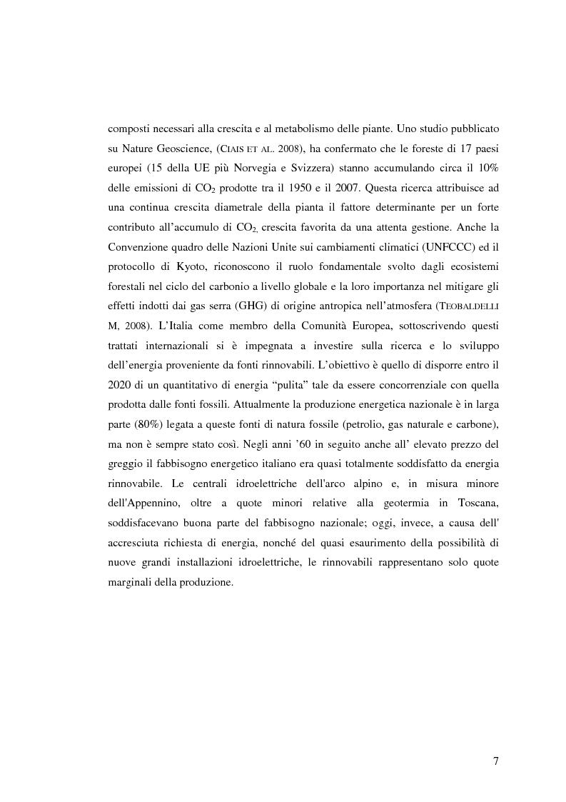 Anteprima della tesi: Qualità del legno di castagno: studio di regole per la selezione del tondame e prove di applicazione su soprassuoli liguri, Pagina 4