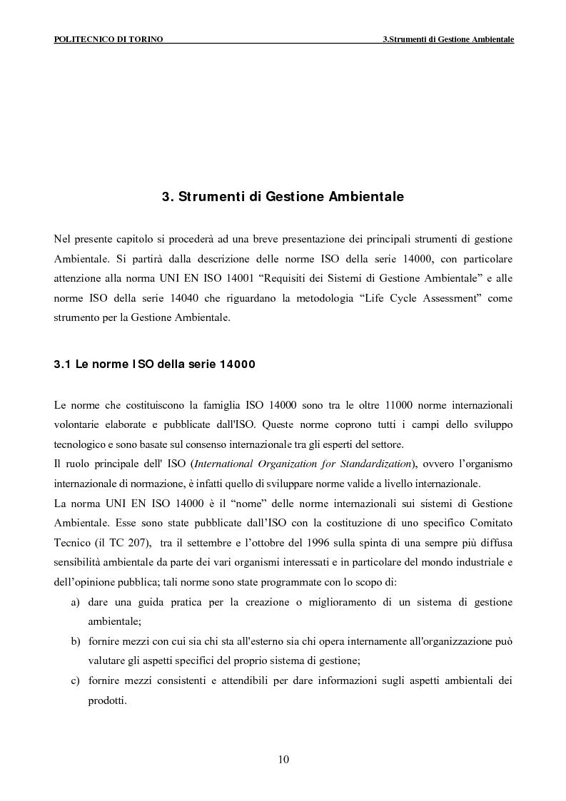 Anteprima della tesi: Applicazione della metodologia LCA alla vita di un edificio: analisi dell'efficienza ambientale della fase di demolizione e smaltimento delle macerie, Pagina 10