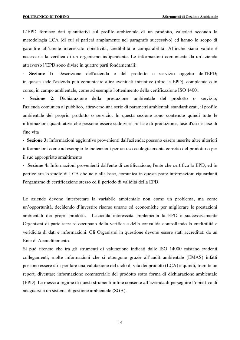 Anteprima della tesi: Applicazione della metodologia LCA alla vita di un edificio: analisi dell'efficienza ambientale della fase di demolizione e smaltimento delle macerie, Pagina 14