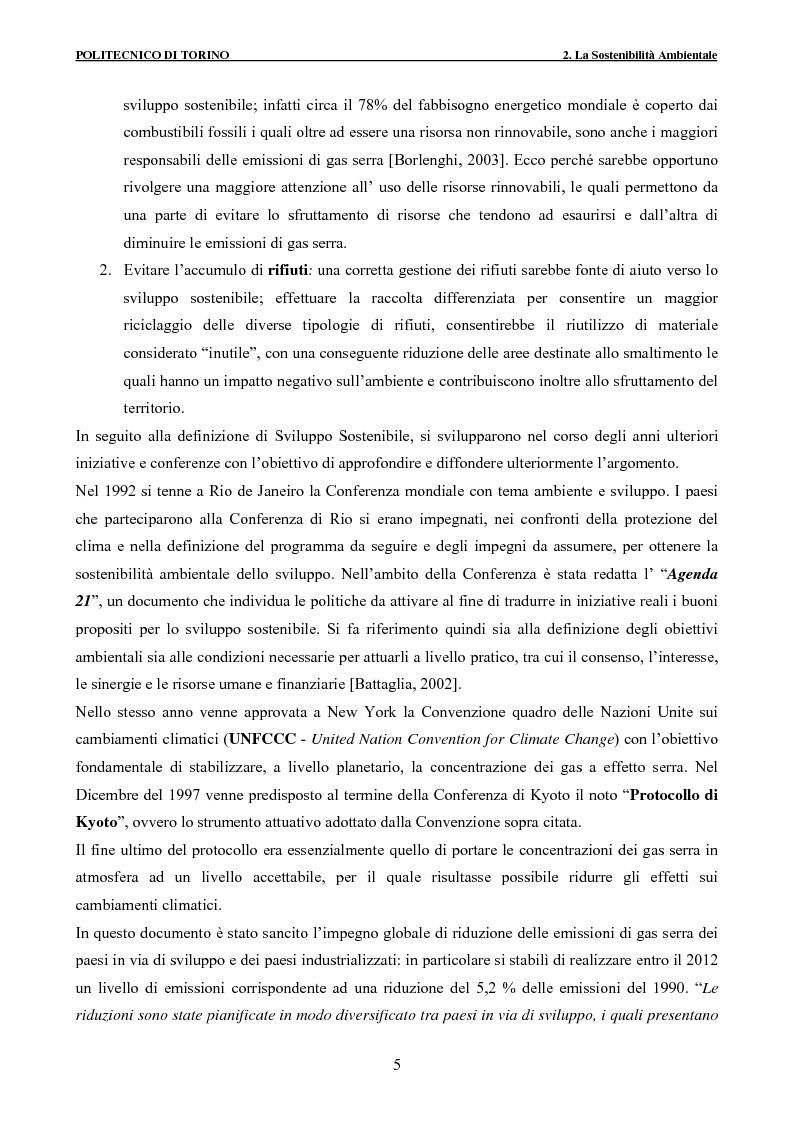 Anteprima della tesi: Applicazione della metodologia LCA alla vita di un edificio: analisi dell'efficienza ambientale della fase di demolizione e smaltimento delle macerie, Pagina 5