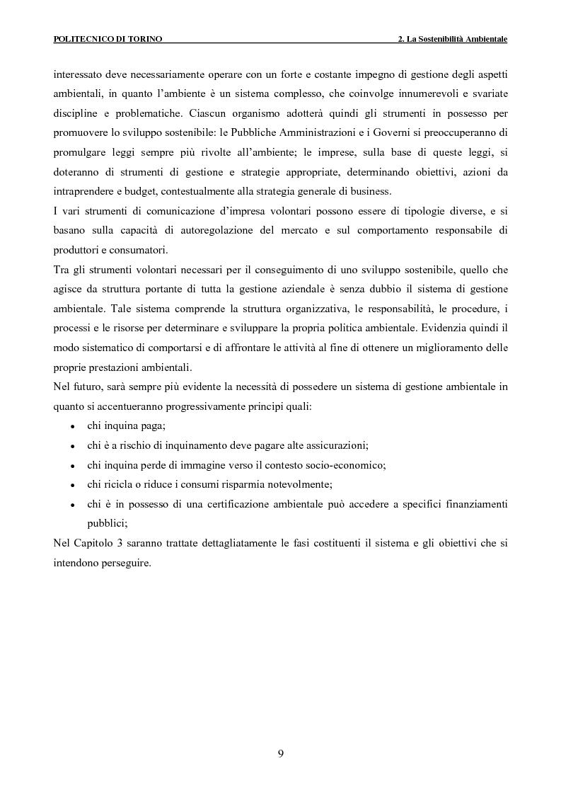 Anteprima della tesi: Applicazione della metodologia LCA alla vita di un edificio: analisi dell'efficienza ambientale della fase di demolizione e smaltimento delle macerie, Pagina 9