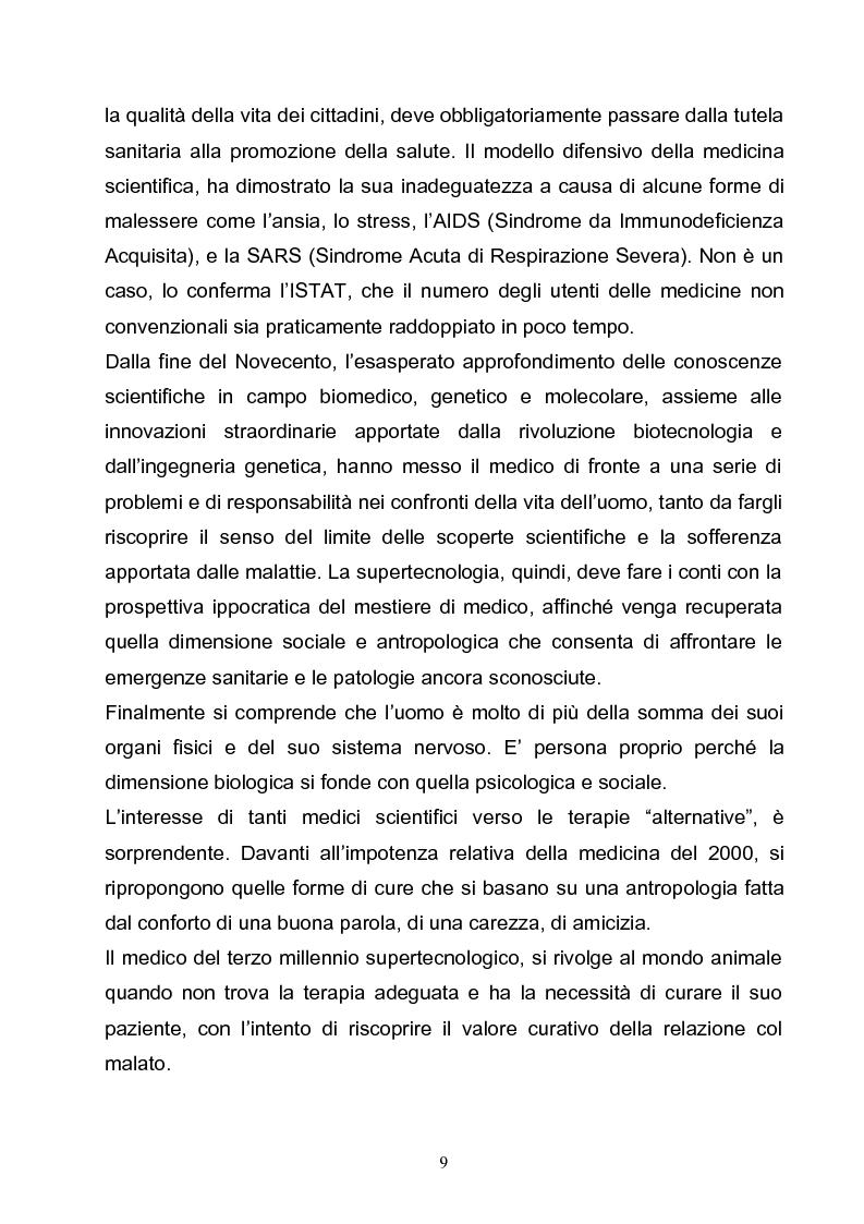 Anteprima della tesi: Marketing e pet-therapy: due discipline a sostegno del benessere individuale e collettivo, Pagina 3