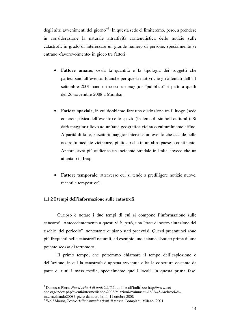 Anteprima della tesi: Terremoto sul Web. L'informazione sulle catastrofi ai tempi del citizen journalism., Pagina 7