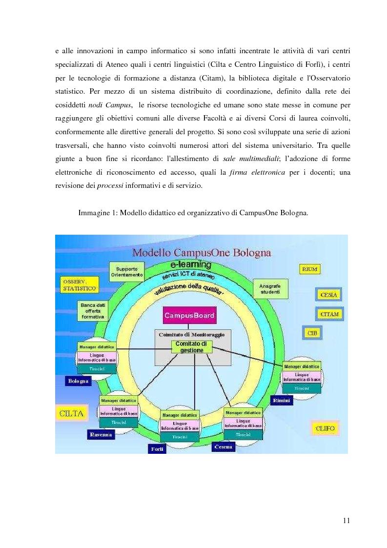 Anteprima della tesi: L'Ateneo che ascolta. Autovalutazione e customer satisfaction nel contesto del Polo universitario bolognese., Pagina 9