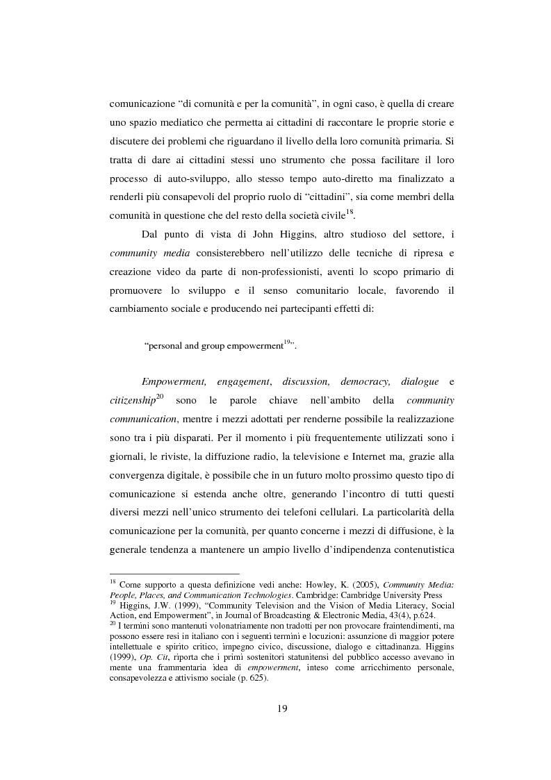 Anteprima della tesi: Student TV. Analisi del fenomeno delle televisioni gestite dagli studenti nel Nord Europa., Pagina 5