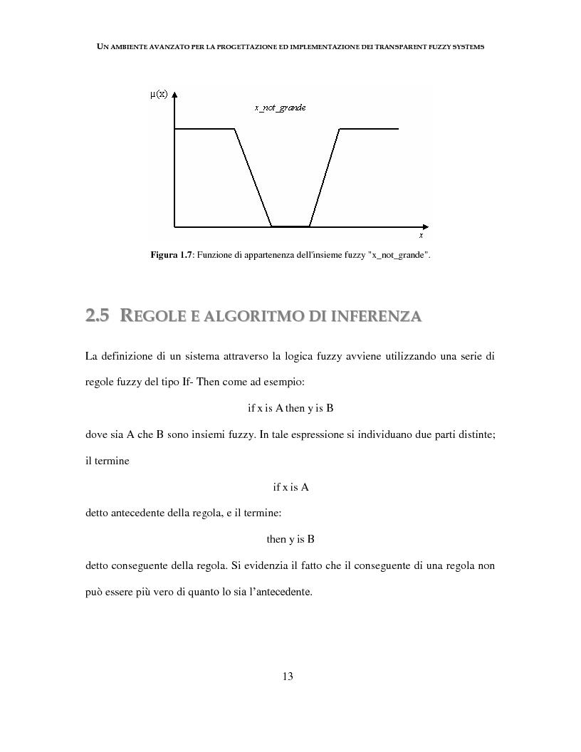 Anteprima della tesi: Un ambiente avanzato per la progettazione ed implementazione dei Transparent Fuzzy Systems, Pagina 13