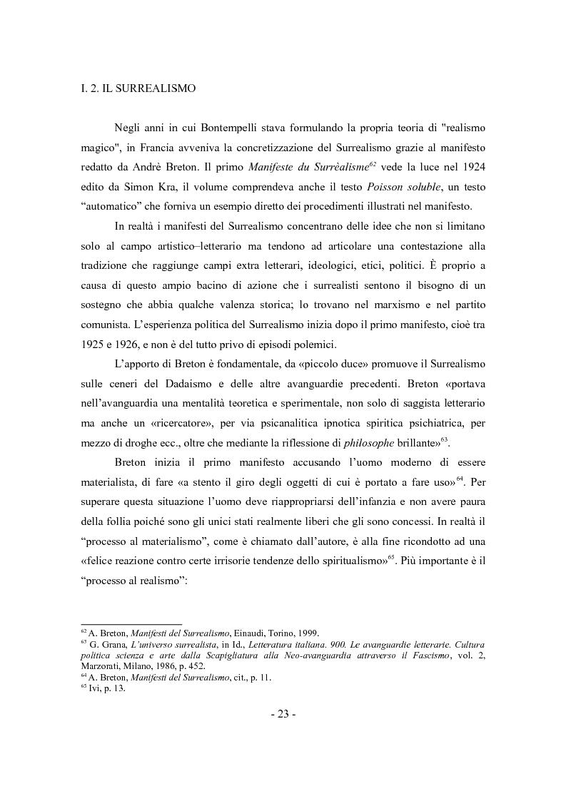 """Anteprima della tesi: «Cinque per sei». Il progetto bontempelliano per una biblioteca del """"realismo magico""""., Pagina 11"""