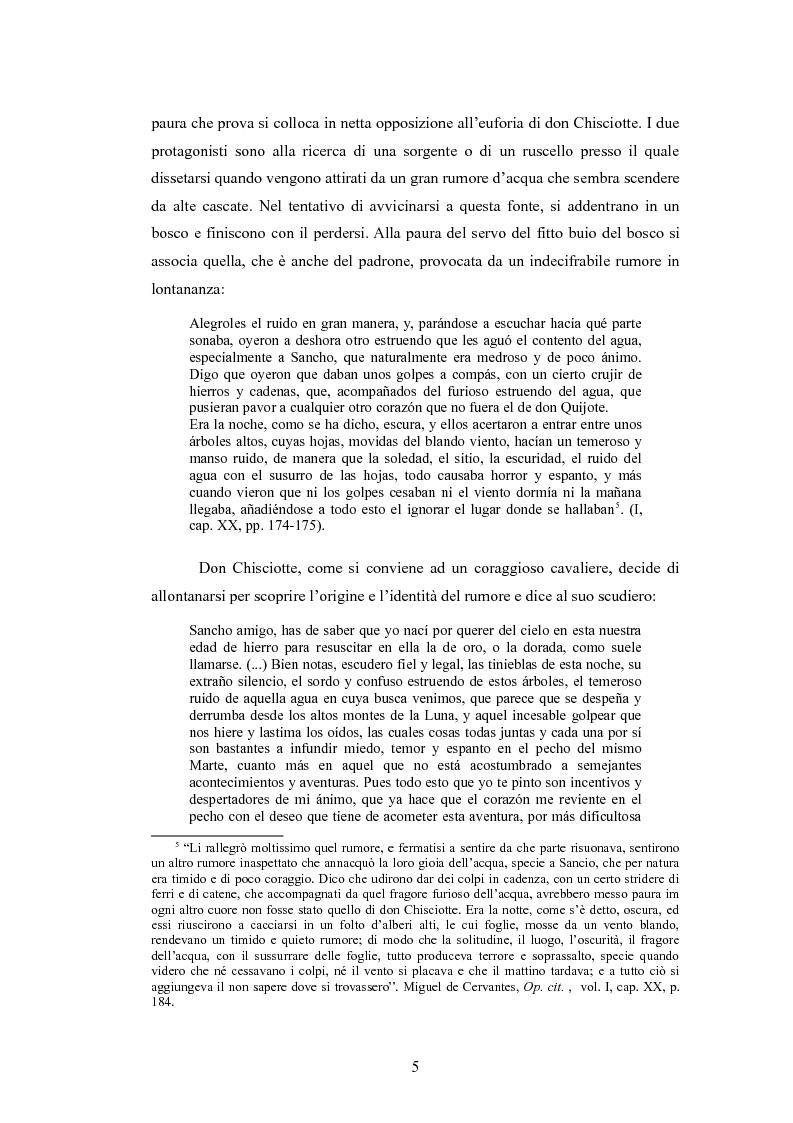 Anteprima della tesi: Sancho Panza, da scudiero fedele a governatore ''quasi'' ideale, Pagina 5