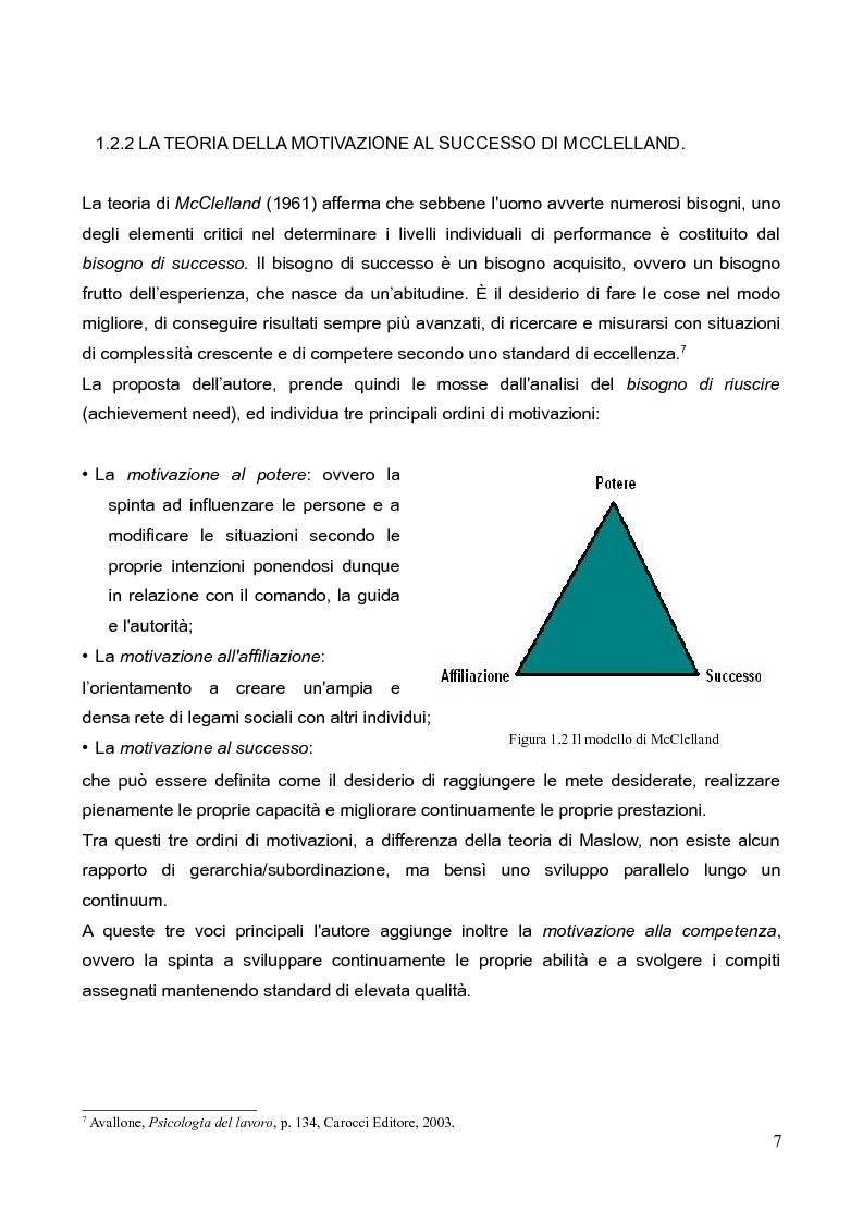 Anteprima della tesi: La motivazione nella scelta del tirocinio professionalizzante, Pagina 5