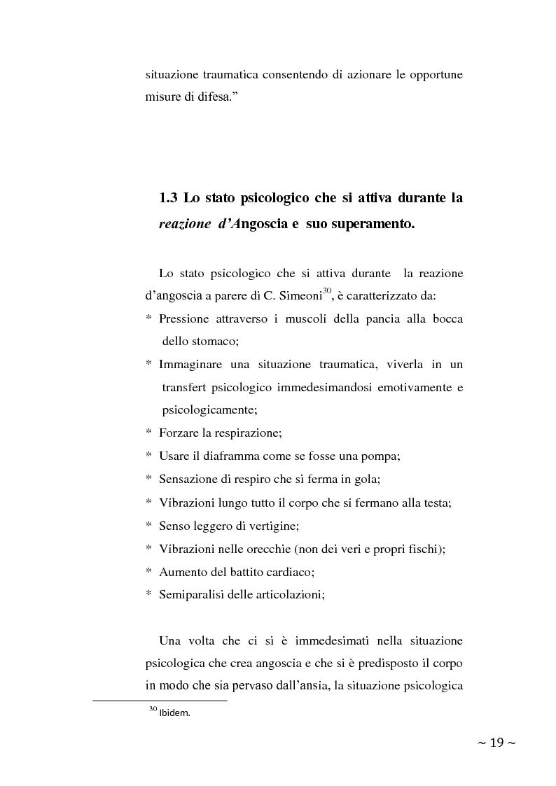 Anteprima della tesi: L'angoscia, un affetto che non mente, Pagina 10