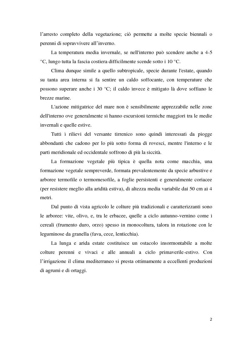 Anteprima della tesi: Quantificazione dell'azotofissazione in leguminose foraggere e stima della quota di azoto trasferito al cereale in successione, Pagina 2
