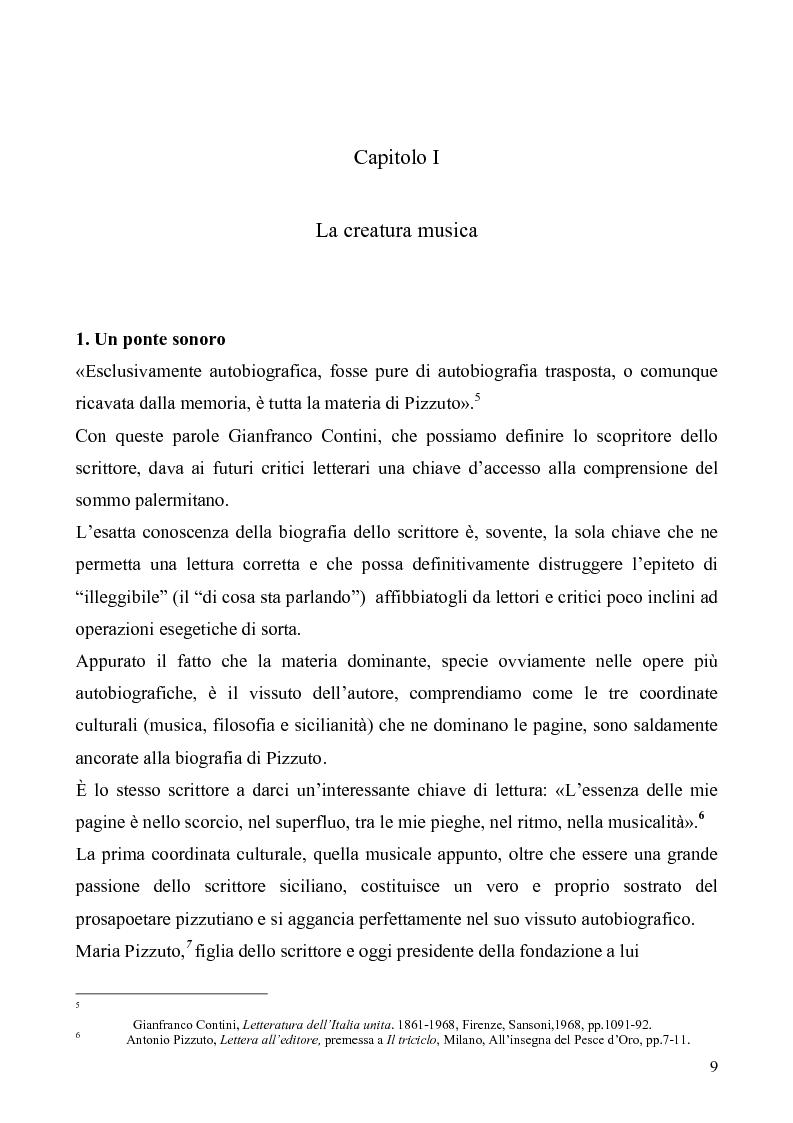 Anteprima della tesi: Antonio Pizzuto - Musica, filosofia e sicilianità, Pagina 5