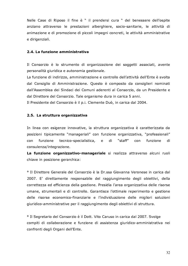 Anteprima della tesi: Analisi del clima organizzativo all'interno di una Residenza Sanitaria: il percepito degli operatori come base per lo sviluppo i progetti finalizzati al miglioramento della qualità percepita, Pagina 4