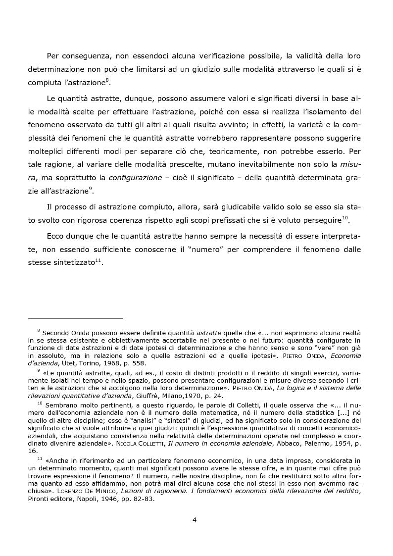 Anteprima della tesi: La duplice accezione di ''attendibilità'' del reddito d'esercizio, Pagina 4