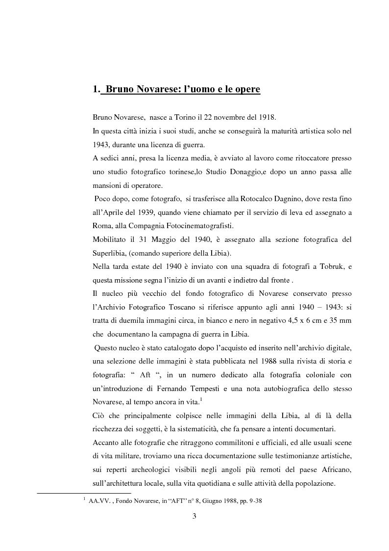 Anteprima della tesi: Bruno Novarese: una bellezza ritrovata, Pagina 2