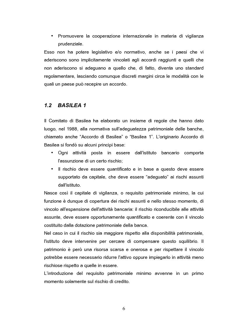 Anteprima della tesi: Il rischio operativo nell'accordo di Basilea 2, Pagina 2