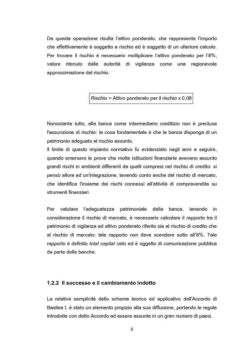 Anteprima della tesi: Il rischio operativo nell'accordo di Basilea 2, Pagina 4