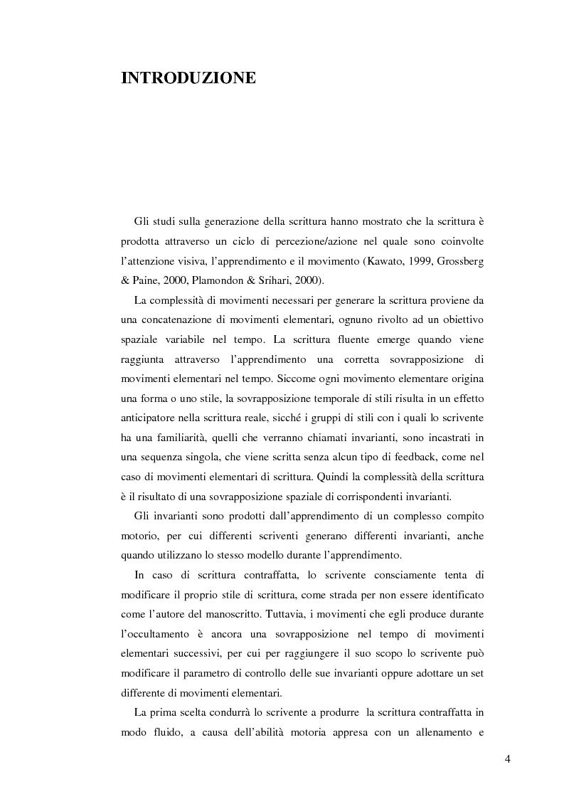 Anteprima della tesi: Un sistema interattivo multiesperto per il clustering degli autori di documenti manoscritti, Pagina 1
