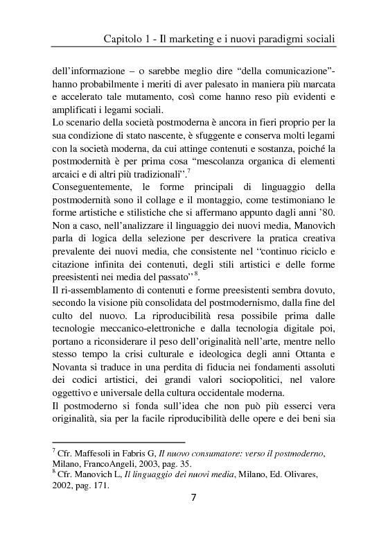 Anteprima della tesi: Il ruolo del cellulare nell'era del marketing multicanale - Strumenti ed esperienze di mobile marketing, Pagina 5