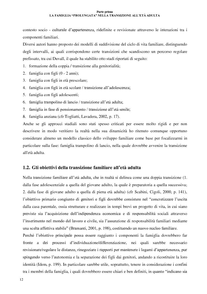 Anteprima della tesi: La lunga transizione familiare all'età adulta, Pagina 10
