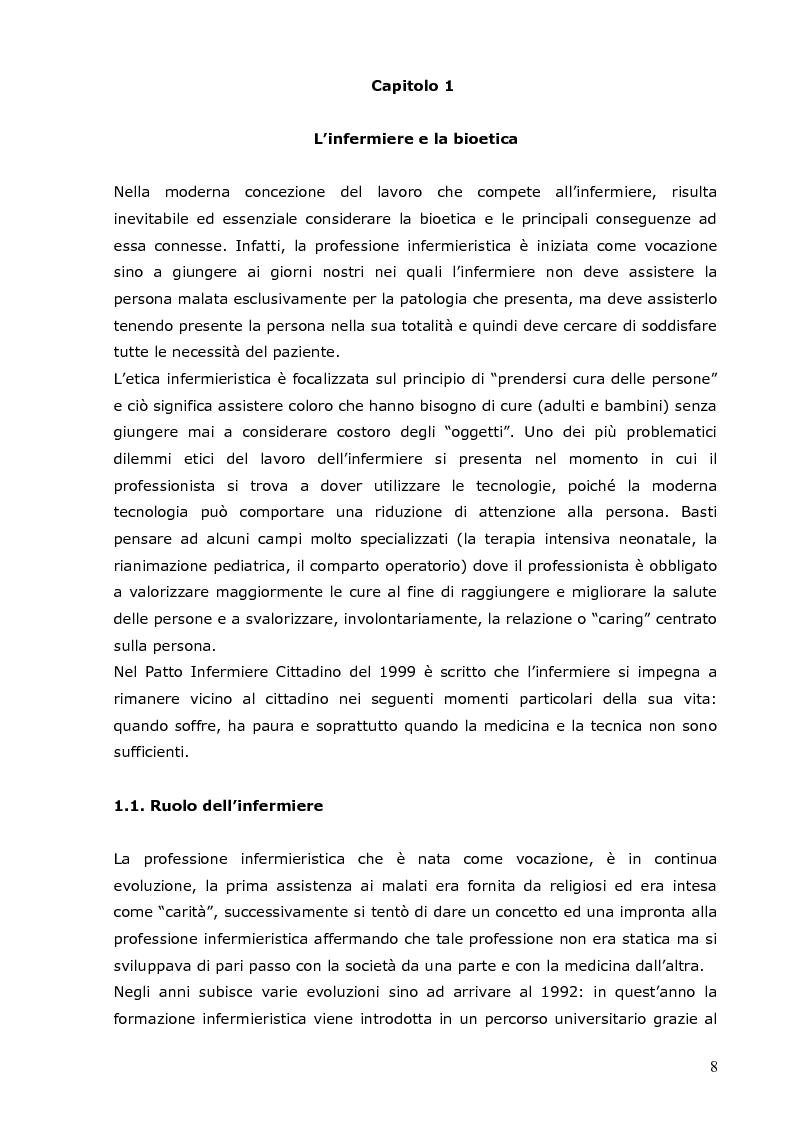 Anteprima della tesi: L'infermiere e le sfide della bioetica: quale formazione?, Pagina 2
