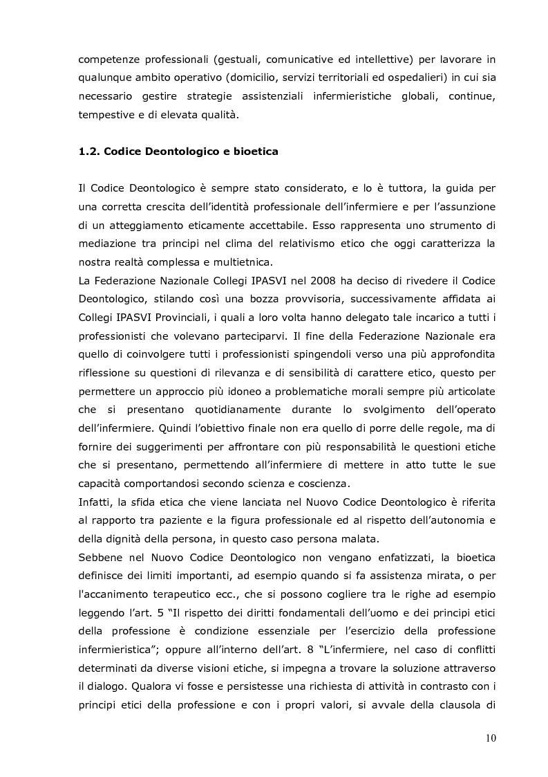 Anteprima della tesi: L'infermiere e le sfide della bioetica: quale formazione?, Pagina 4