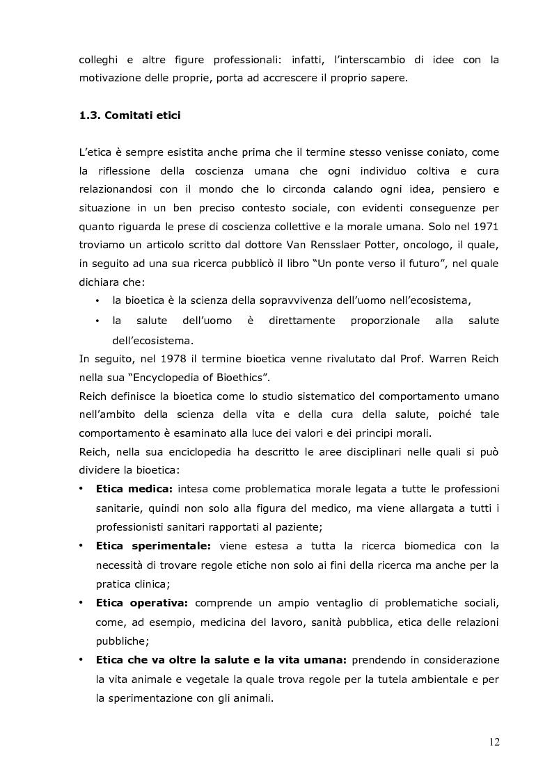 Anteprima della tesi: L'infermiere e le sfide della bioetica: quale formazione?, Pagina 6