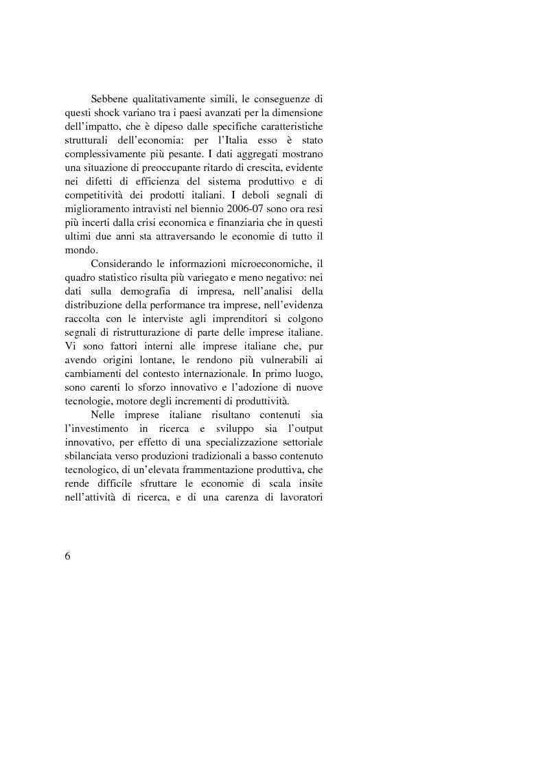 Anteprima della tesi: Il passaggio generazionale nel family business. Strumenti tecnico-giuridici e finanziari, Pagina 4