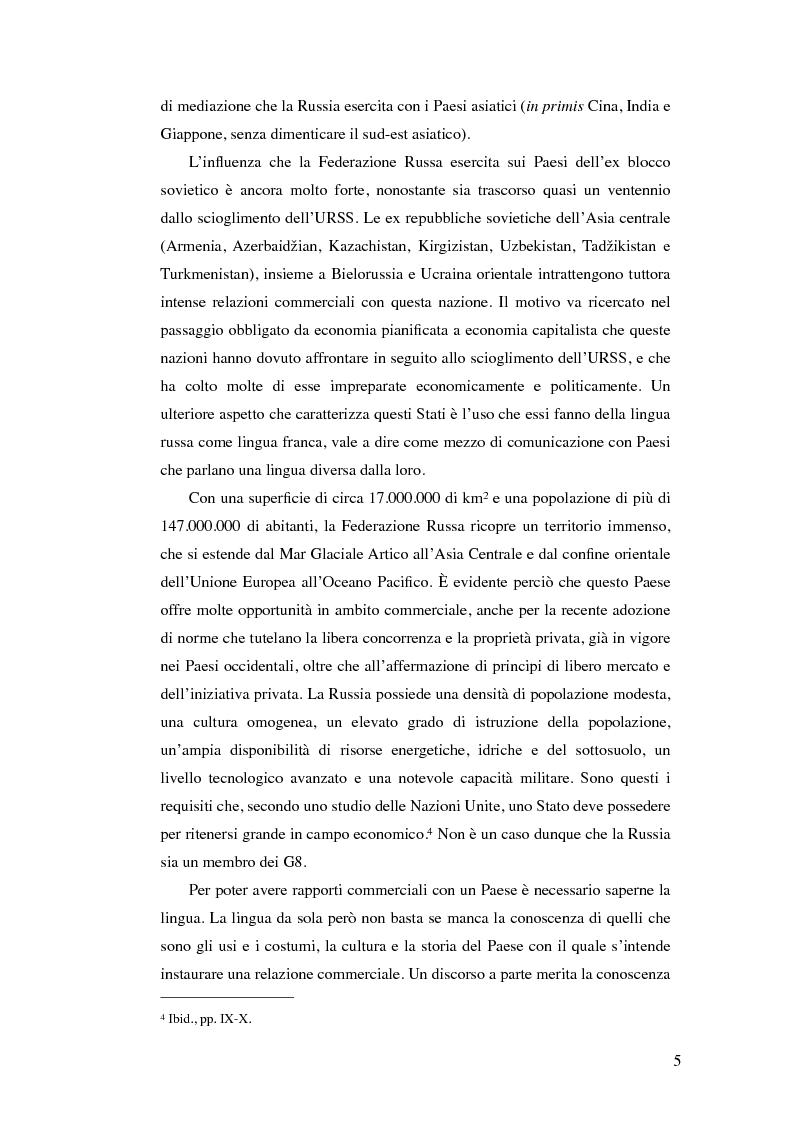 Anteprima della tesi: Diritto commerciale russo: analisi sincronica e diacronica, Pagina 2