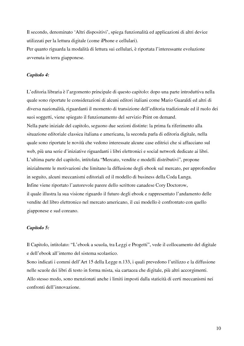 Anteprima della tesi: Fenomeno ebook: dall'editoria tradizionale alla pubblicazione digitale, Pagina 5