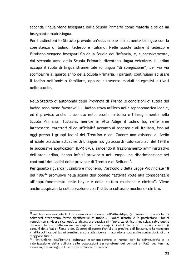 Anteprima della tesi: L'approccio alla lingua straniera nella scuola dell'infanzia: l'esperienza raccontata attraverso il diario di bordo, Pagina 13