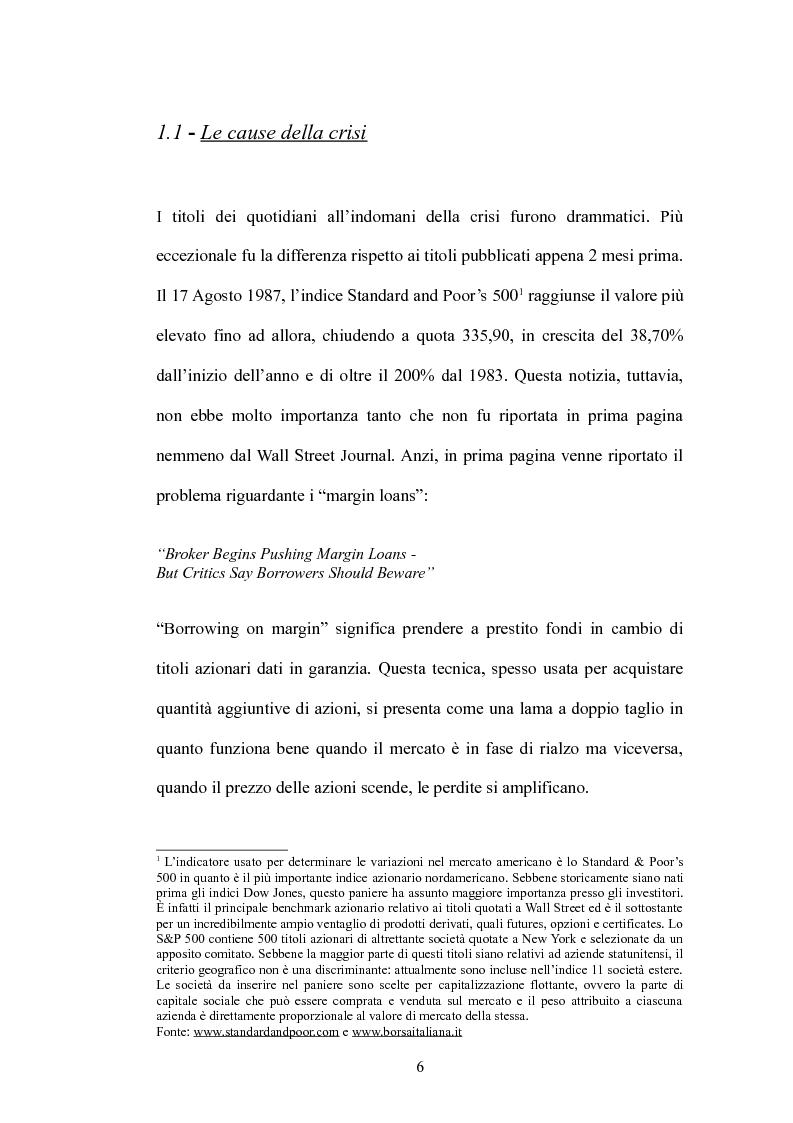 Anteprima della tesi: Il Panic Selling. Dinamiche dei momenti di panico finanziario, Pagina 6
