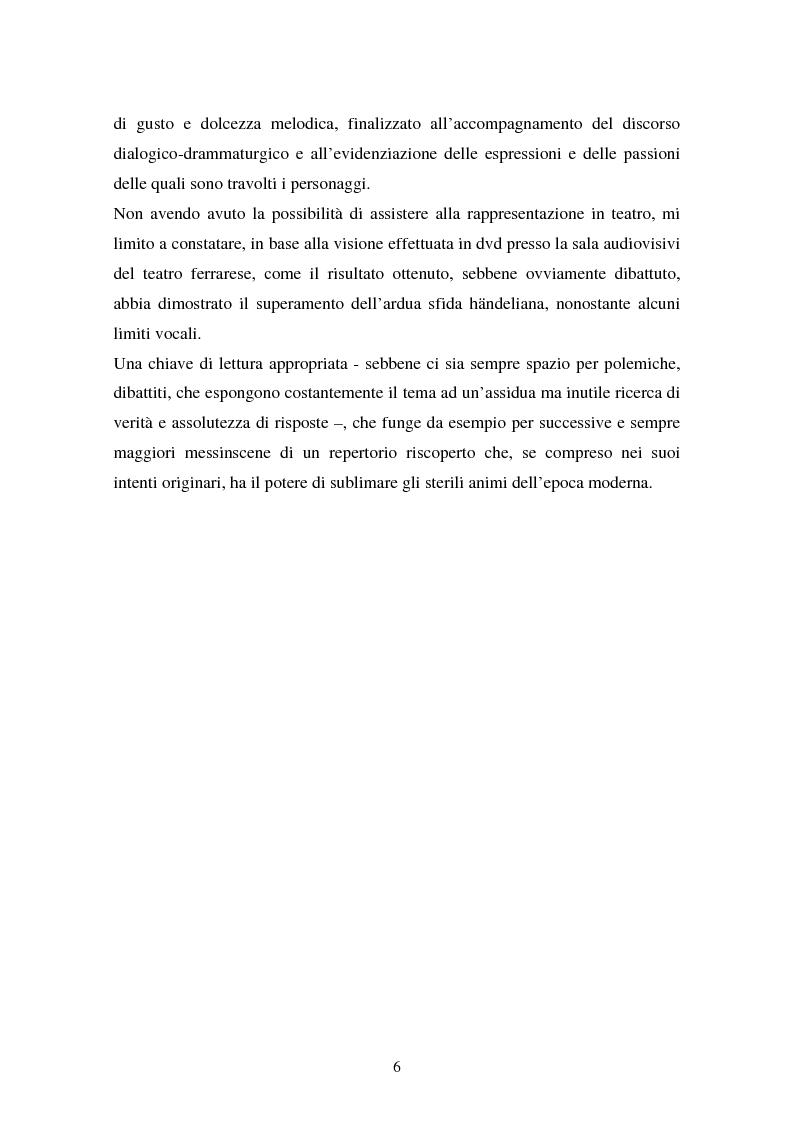 Anteprima della tesi: La Partenope di Handel: un esempio di messinscena moderna di un'opera barocca, Pagina 4