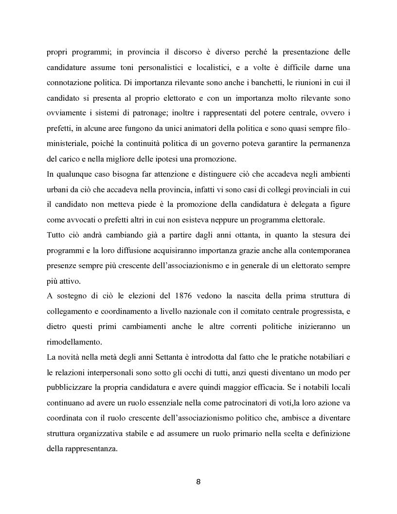 Anteprima della tesi: Trasformazioni delle campagne elettorali in Italia, Pagina 5