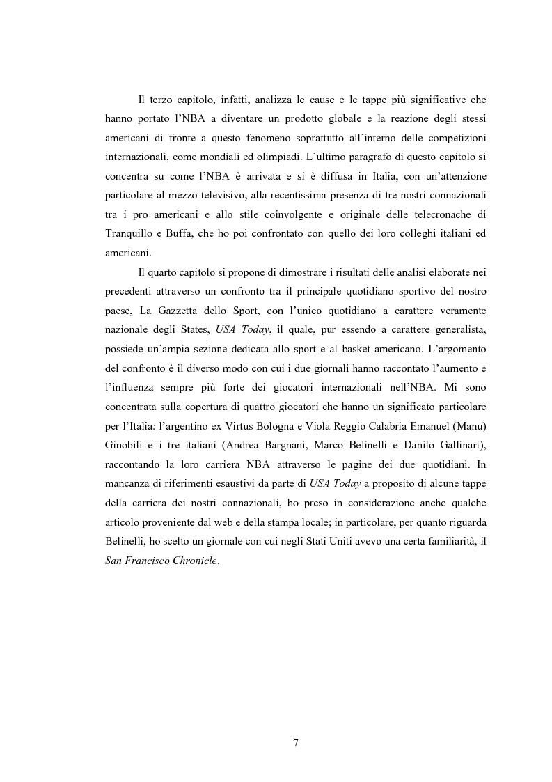Anteprima della tesi: Comunicare l'NBA: i media e il basket a stelle e strisce in America e oltreoceano, Pagina 3