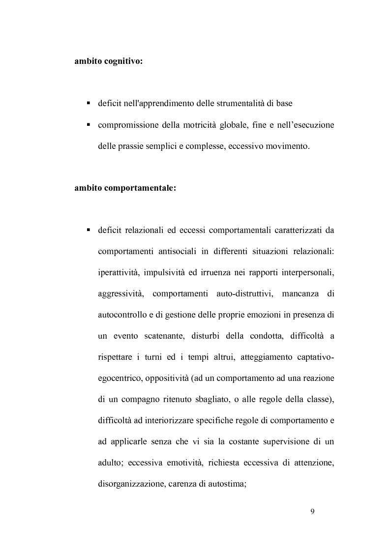Anteprima della tesi: L'integrazione degli alunni diversamente abili attraverso l'educazione motoria nella Scuola Primaria: strategie didattico-educative, Pagina 6