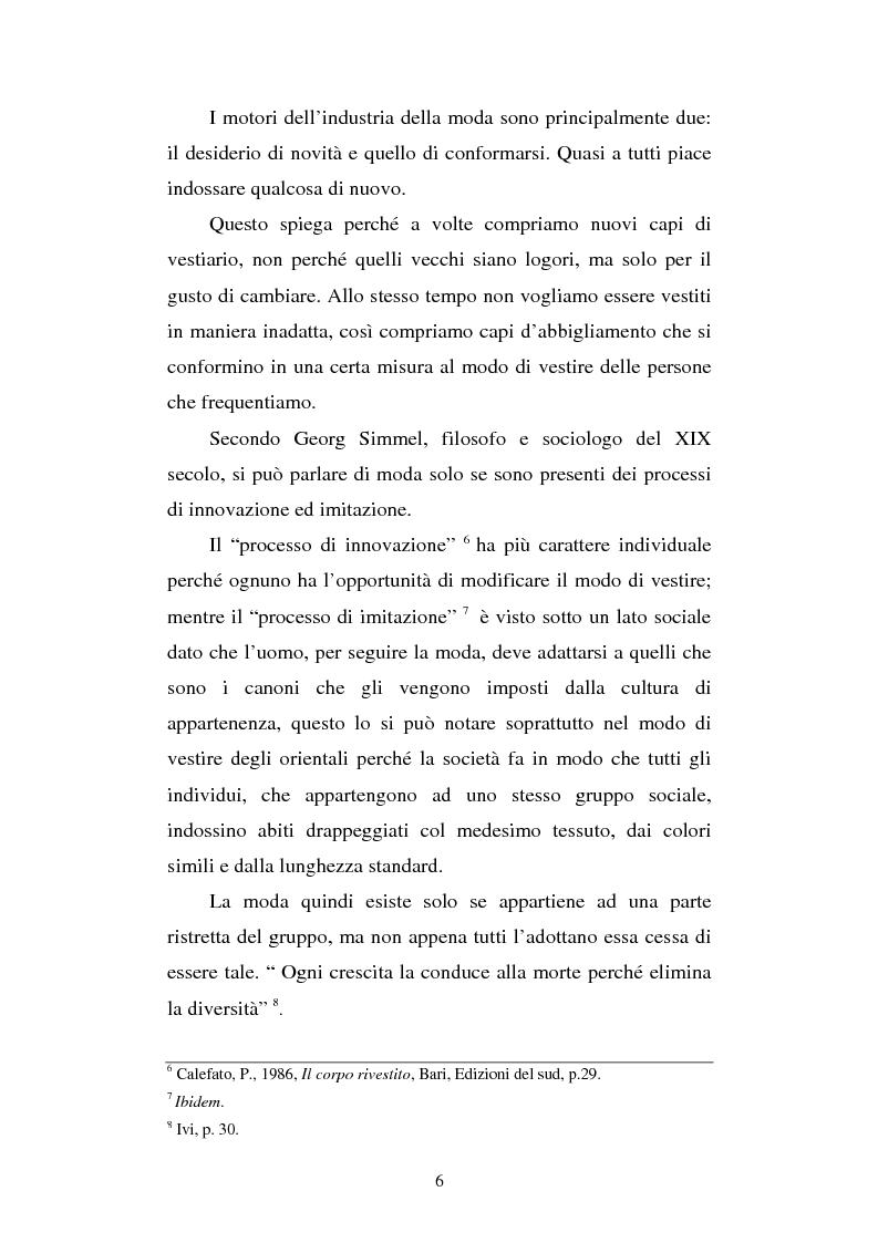 Anteprima della tesi: Orientalismi ed esotismi nella moda contemporanea, Pagina 4