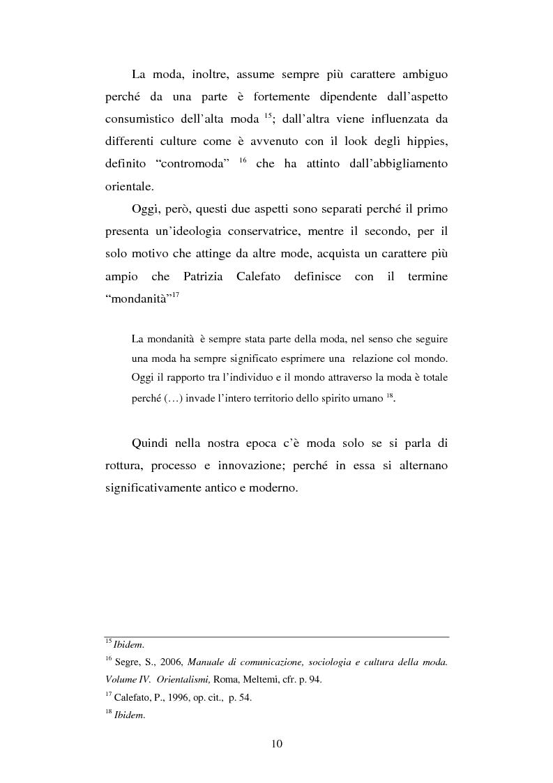 Anteprima della tesi: Orientalismi ed esotismi nella moda contemporanea, Pagina 8