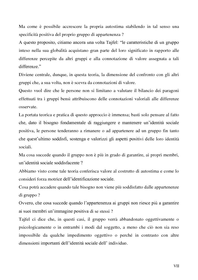 Anteprima della tesi: La dimensione etnica dell'identità sociale attraverso il contributo di Fethi Benslama, Pagina 7